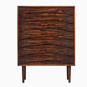 Danish Rosewood Chest of Drawers by Arne Vodder for N.C Møbler, 1950s