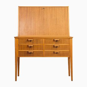 Swedish Mid-Century Secretary, 1950s