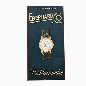 Pannello pubblicitario per Eberhard & Co., anni '50