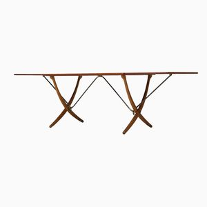 AT-304 Dining Table by Hans Wegner for Andreas Tuck, 1950s