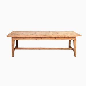 Vintage French Pine Farm Table