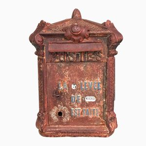French Cast Iron Letterbox from Delachanal, 1900