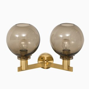 Swedish Mid-Century V-305/2 Wall Lamp by Hans-Agne Jakobsson