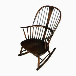 Rocking Chair Windsor Chairmakers by Lucian Ercolani pour Ercol