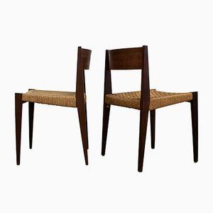 Italienische Esszimmerstühle von ISA, 2er Set