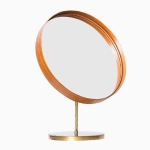 Swedish Mid-Century Table Mirror from Glasmäster