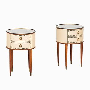 Night Stands by Halvdan Pettersson, 1950s, Set of 2