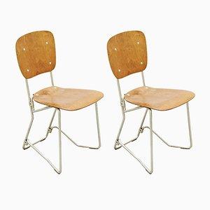 Schweizer Stühle von Armin Wirth, 1950er, 2er Set
