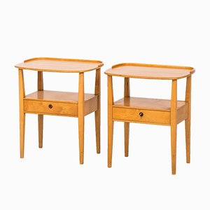 Bedside Tables from Nordiska Kompaniet, Set of 2