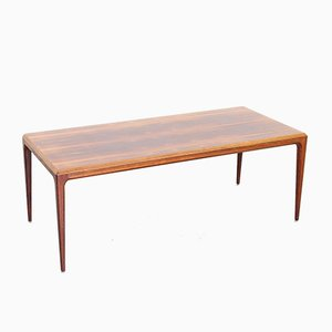 Mid-Century Danish Rosewood Coffee Table by Johannes Andersen for CFC Silkeborg, 1960s