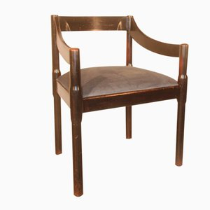 Italienischer Carimate Stuhl von Vico Magistretti für Cassina, 1959