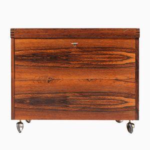 Danish Rio Rosewood Dry Bar Cabinet, 1960s