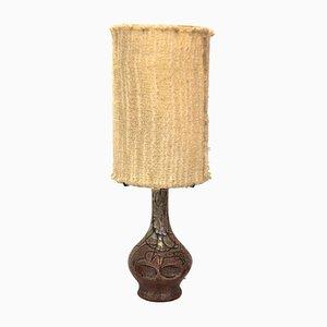 Lampe de Table en Céramique par Accolay, France, 1970s