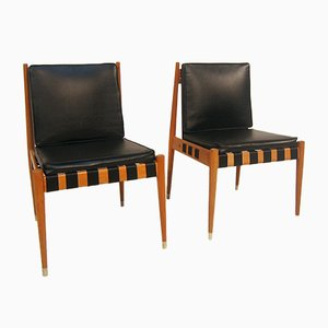 German Embassy Chairs by Egon Eiermann, 1958, Set of 2