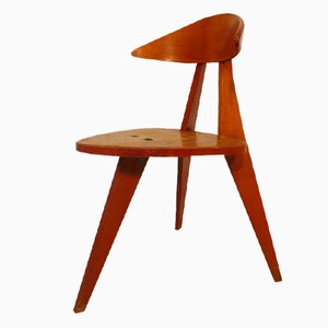 3-Legged Chair by Walter Papst for Wilkhahn, 1955