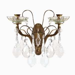 Vintage French Candelabra Wall Light