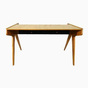 walnut desk by helmut magg for wk furniture for sale at pamono. Black Bedroom Furniture Sets. Home Design Ideas