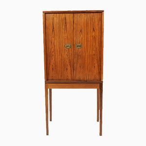 Mid-Century Danish Rosewood Cabinet by Ole Wanscher for Snedkermester A.J Iversen, 1950s