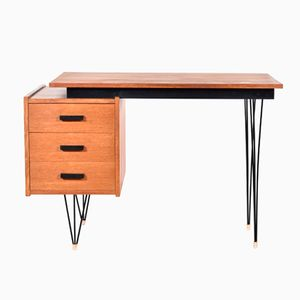Dutch Small Writing Desk by Cees Braakman for Pastoe, 1950s