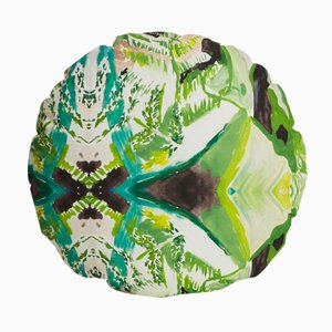 Circle Fern Pillow by Naomi Clark for Fort Makers