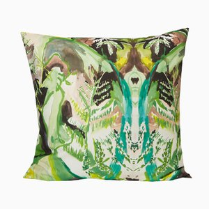 Square Fern Pillow by Naomi Clark for Fort Makers
