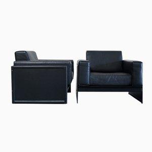 Korium KM 3/1 Armchairs by Tito Agnoli for Matteo Grassi, Set of 2