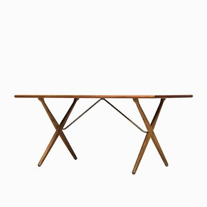 AT-303 Dining Table by Hans Wegner for Andreas Tuck
