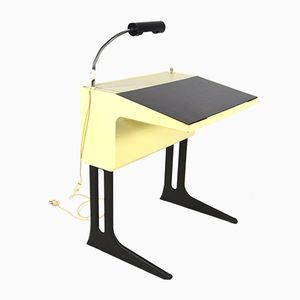 Small German Writing Desk by Luigi Colani for Flötotto, 1970s