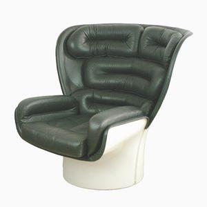 Italienischer Elda Stuhl von Joe Colombo für Comfort Italy, 1960er