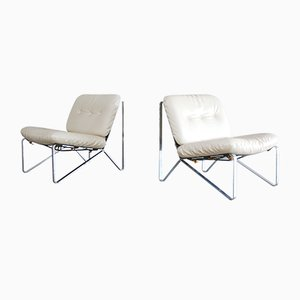 Mid-Century Lounge Chairs by Hartmut Lohmeyer for Mauser Werke Waldeck, Set of 2