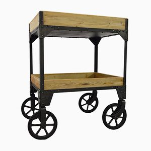 Vintage French Workshop Trolley