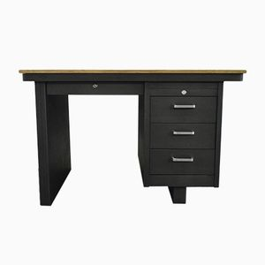 Mid-Century French Industrial Desk from Strafor