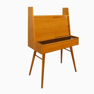 German Cherry Secretaire from Wilhelm Renz, 1958