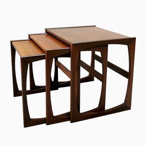 Teak Quadrille Nesting Tables from G-Plan