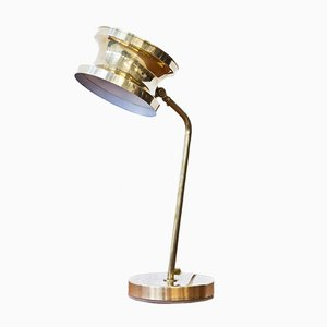 Swedish Brass Table Lamp from Tyringe Konsthantverk, 1960s