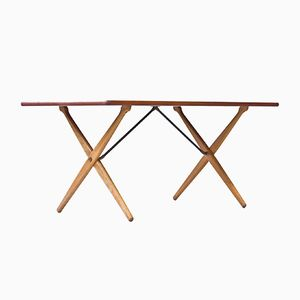 AT-303 Dining Table by Hans J. Wegner for Andreas Tuck, 1950s