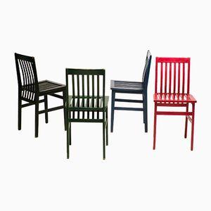 Milano Stühle von Aldo Rossi für Molteni, 1985, 4er Set