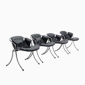 Lynn Dining Chairs by Gastone Rinaldi for Rima, Set of 4