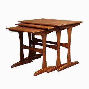 Mid-Century Danish Teak Nesting Tables