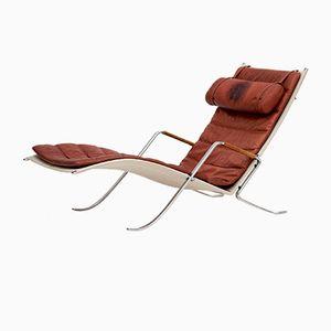 Chaise longue Grasshopper di Fabricius & Kastholm per Alfred Kill