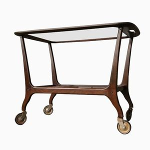 Italian Serving Cart by Cesare Lacca for Cassina, 1940s
