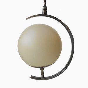 Lampe à Suspension Moon de Fog & Mørup, 1930s