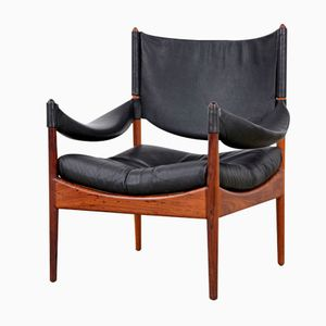 Modus Easy Chair by Kristian Solmer Vedel for Søren Willadsen, 1960s