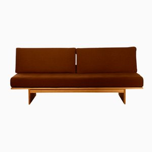 Mid-Century Wool & Oak Daybed by Bra Bohag for Dux