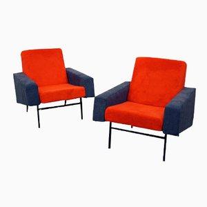 Mid-Century G10 Sessel von Pierre Guariche für Airborne, 2er Set