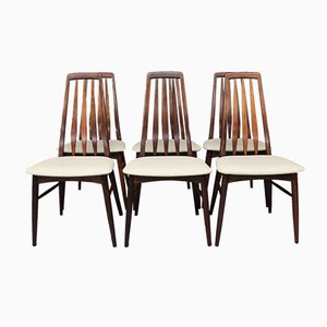 Eva Dining Chairs by Niels Koefoed, 1960s, Set of 6