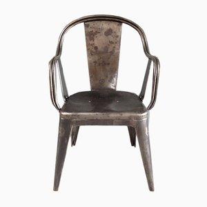 Tolix C Armlehnstuhl von Xavier Pauchard für Tolix, 1930er