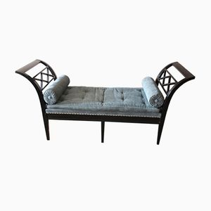 French Ebonized Daybed, 1890s