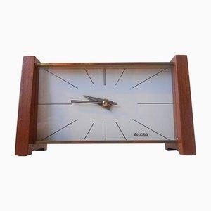 Orologio da tavolo Mid-Century moderno di Ankra