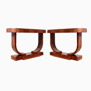 Art Deco Console Tables from Guerin Paris, 1920s, Set of 2